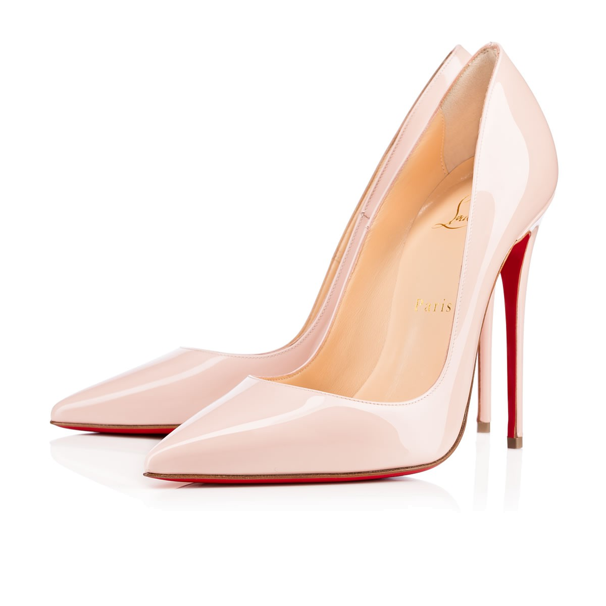So Kate 120 Ballerina Patent Leather - Women Shoes - Christian Louboutin