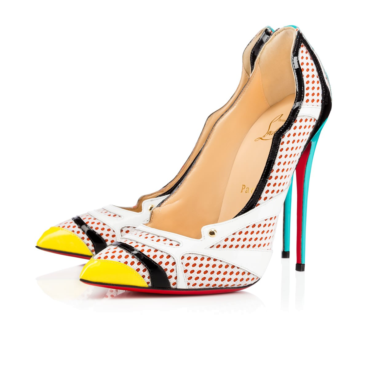 Tronetta 120 Version Multi Patent Leather - Women Shoes - Christian Louboutin